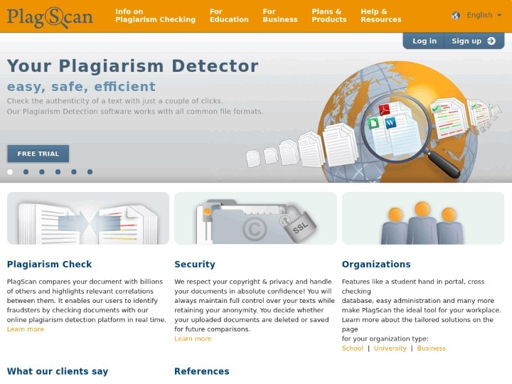 what are the best plagiarism checkers